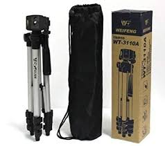 Tripod WT3110A With 3-Way HeadTripod for Nikon Sony Canon WT-3110A Exclusive - Buy from EsyExpress.com