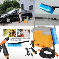 5 pieces High Pressure Portable Car Washer - Buy from EsyExpress.com