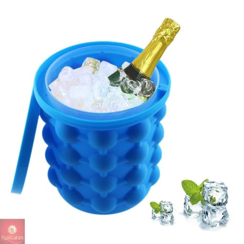 Silicone Ice Cube Maker Bucket Revolutionary Space Saving Ice-Ball Makers for Home, Party and Picnic - Buy from EsyExpress.com