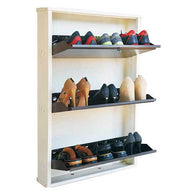 Wall Mounted 3 Shelves Jumbo Shoe Rack - Buy from EsyExpress.com