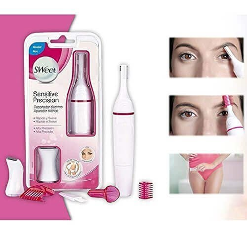 Sweet Sensitive Touch Eyebrows Underarms Electric Trimmer For Women - Buy from EsyExpress.com