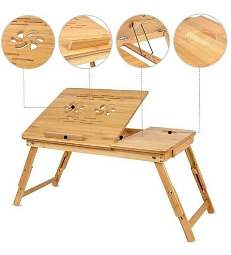 Wooden Laptop Table - Buy from EsyExpress.com