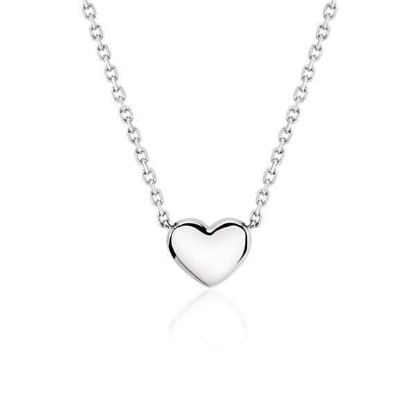 Simple Heart Necklace - HighToneJewelry