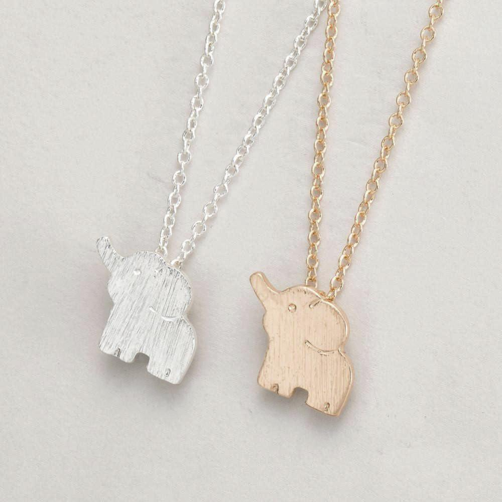 Baby Elephant Necklace - HighToneJewelry