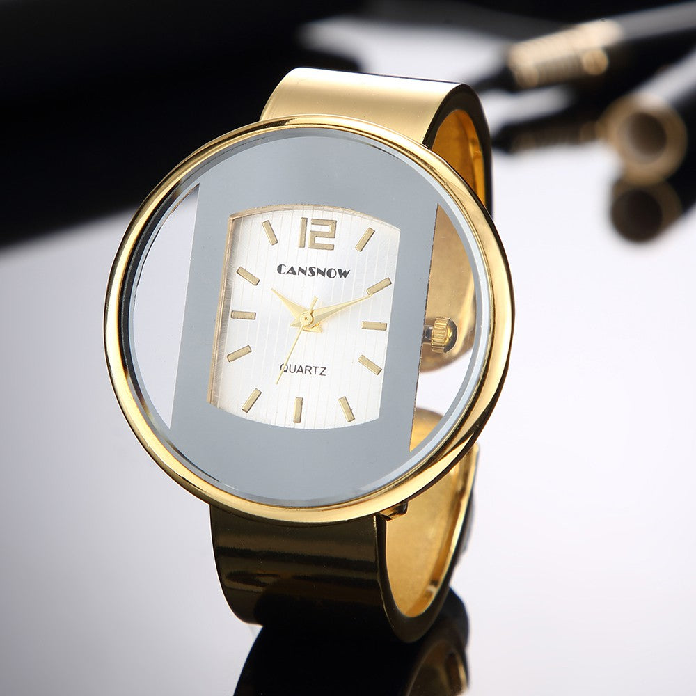 HighTone™️ Mia Bangle Bracelet Watch