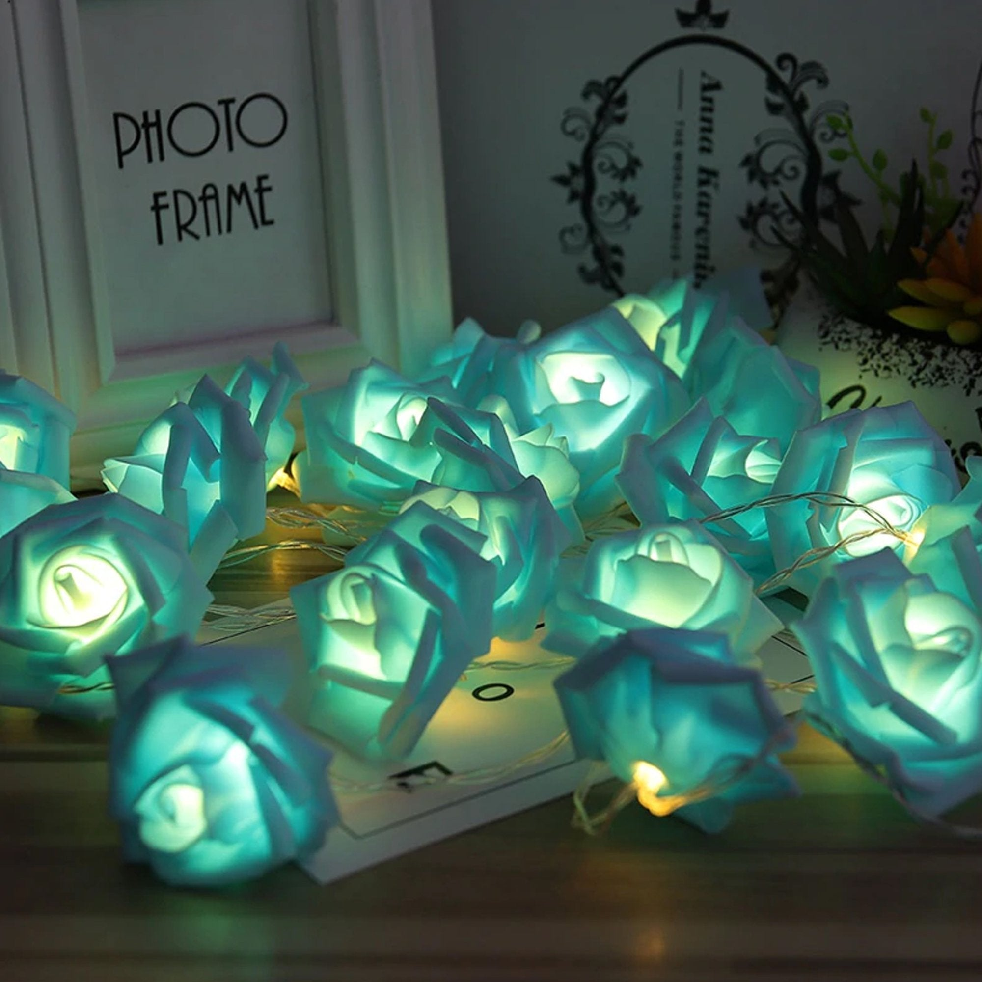 LED Rose Fairy Lights