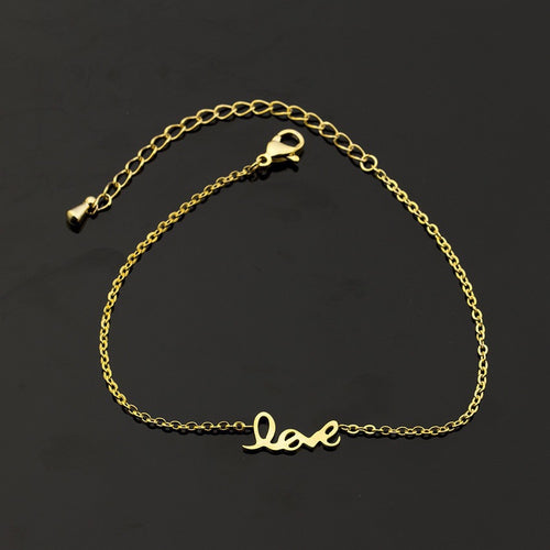 "Charming ""Love"" Bracelet - HighToneJewelry"