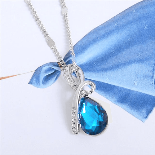 Luxury Crystal Necklace - HighToneJewelry