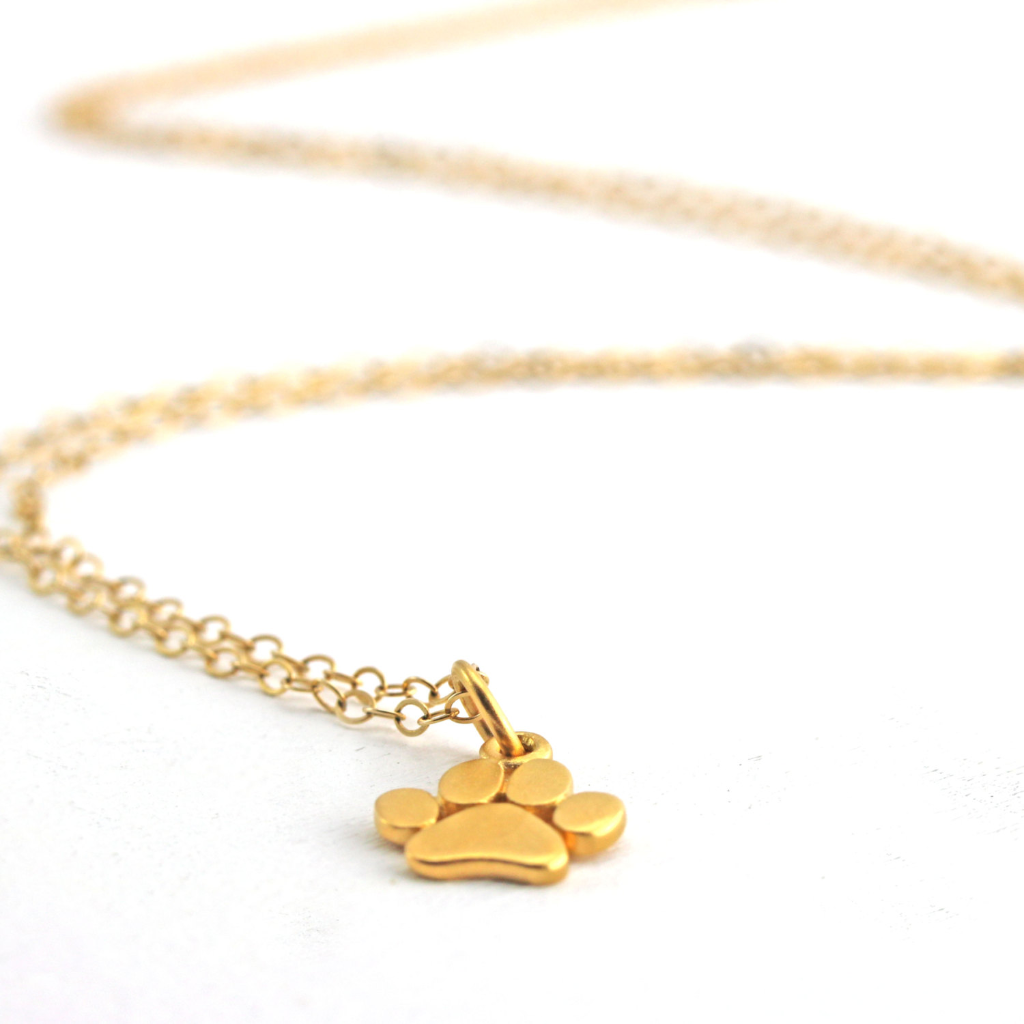 Cute Dog Footprint Necklace - HighToneJewelry