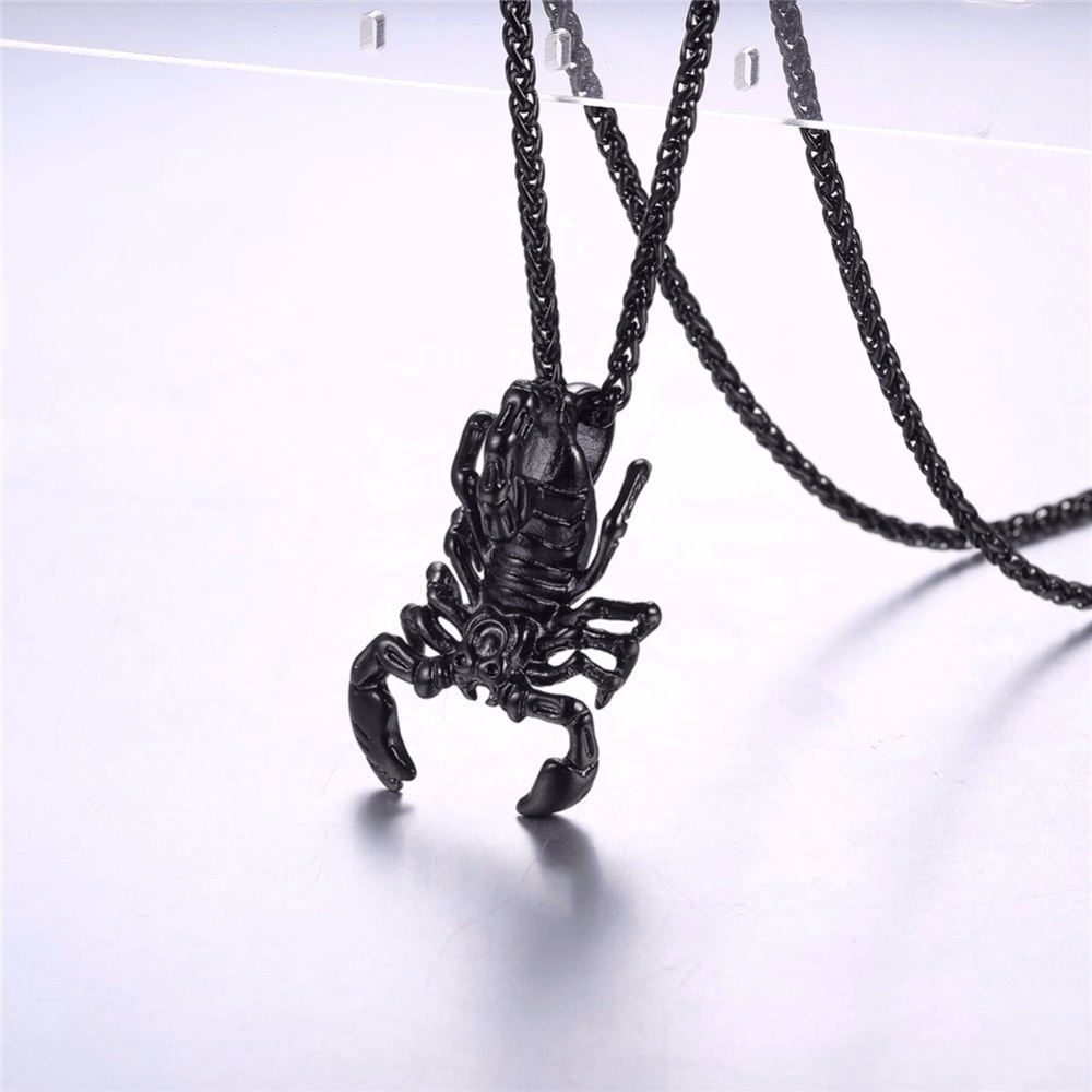 Scorpion Necklace - HighToneJewelry