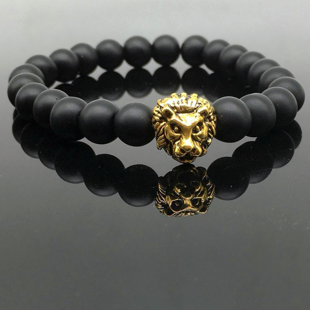 Gold/Silver Lion Bracelet - HighToneJewelry
