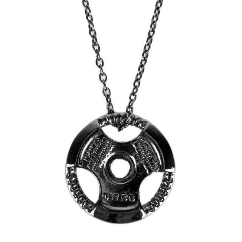 Bodybuilding Weight Plate Necklace - HighToneJewelry