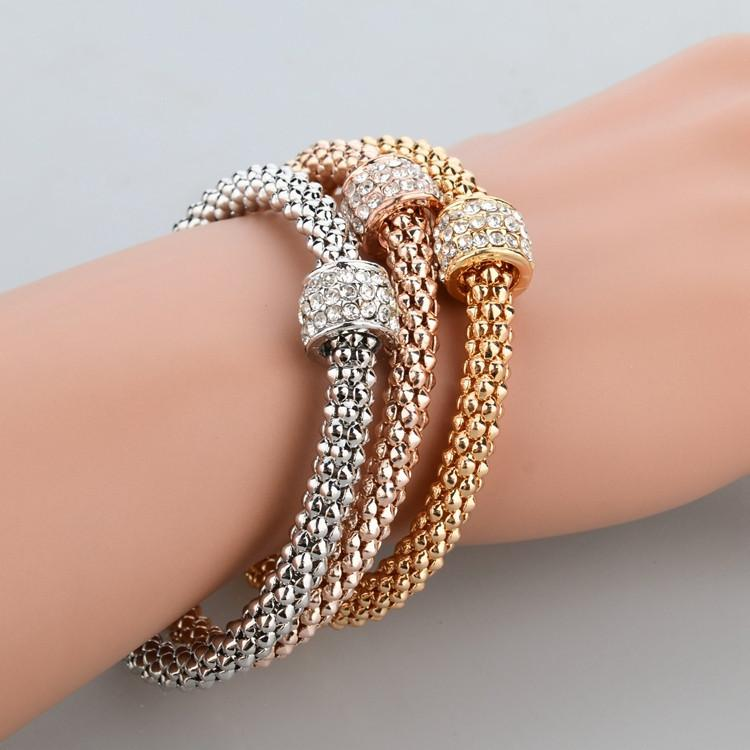 Metal Chain Bracelet for Women - HighToneJewelry