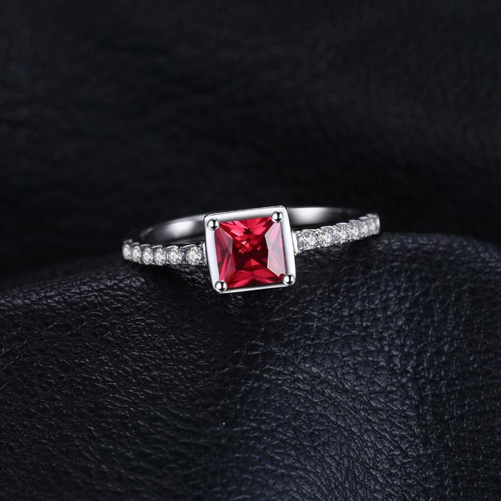 Ruby Wedding Ring - HighToneJewelry
