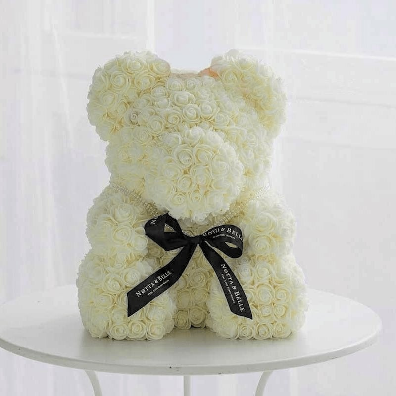 Romantic Rose Teddy Bear