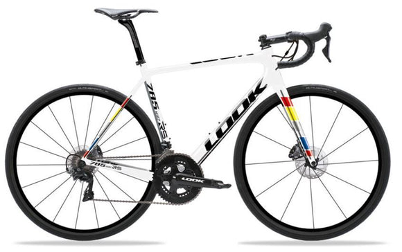 Look 785 Huez RS Disc RED eTap Vittoria Elusion Disc Road Bike 2019 - Chain Driven Cycles