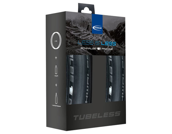 Schwalbe Pro One Tubeless-Set - Chain Driven Cycles