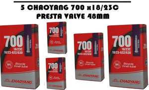 Chaoyang 700 x 18/23c Presta valve 48 mm - Chain Driven Cycles