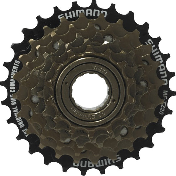 SHIMANO MF-TZ20 6S 14-28 FREEWHEEL - Chain Driven Cycles