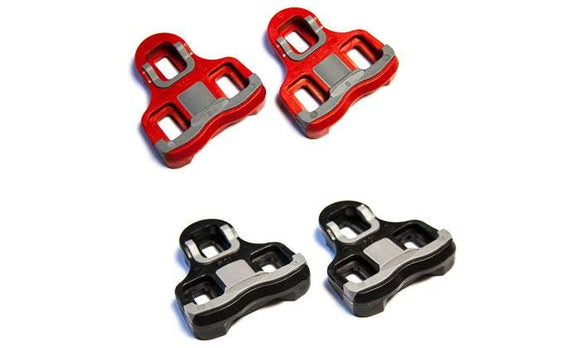 PowerTap P1 Pedal Cleats 6 Degree Float (Red) - Chain Driven Cycles