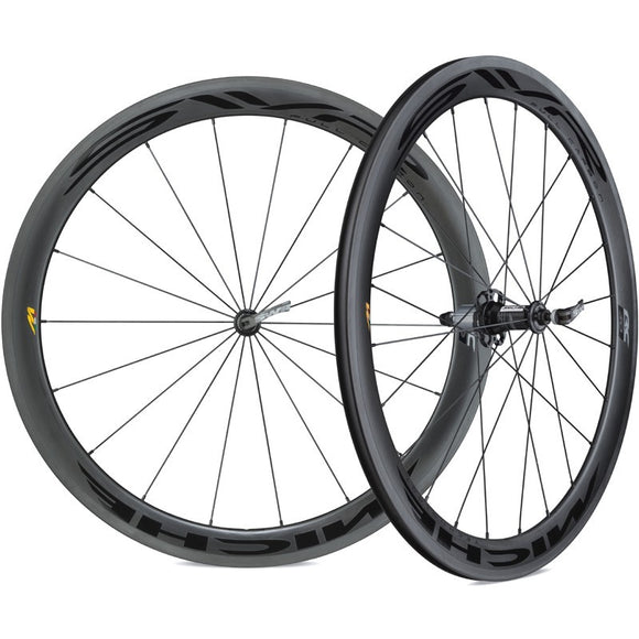 Miche SWR full carbon Tubeless ready Wheelset (shimano 11sp)