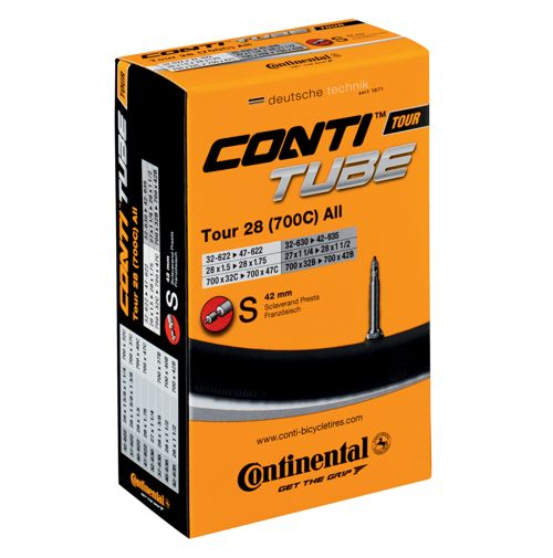 Continental Tour 28 Hybrid Tube Presta Valve 1 Pack - Chain Driven Cycles