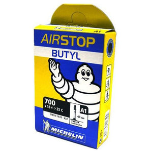Michelin Airstop A1 Butyl 40mm Presta Valve 1 Pack