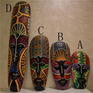 African colored mask Thai face gift home decoration Dukaiko