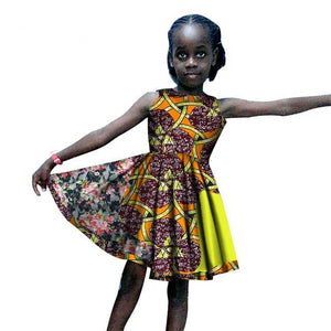 African Dresses for Girls Traditional Clothing Dukaiko