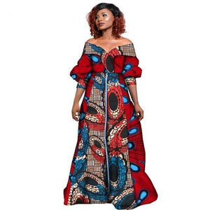 African Long Dresses for Women Clothing Dukaiko