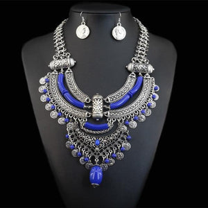 African Necklace & Pendant jewelry set Dukaiko