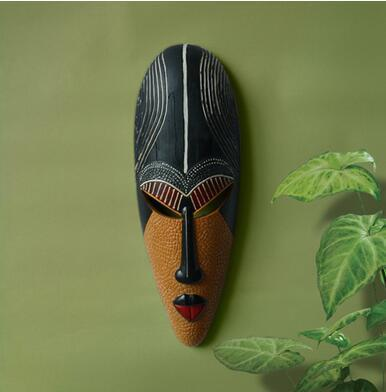 African Retro Exotic Resin Mask Hanging Masks Dukaiko