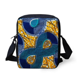 African Style Printed Crossbody Small Handbags Dukaiko