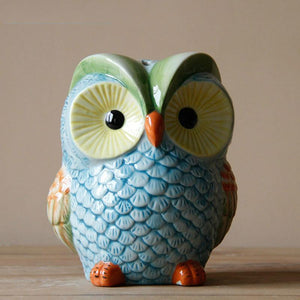Ceramic Owl Ornament Table Decoration Wedding Gift Dukaiko