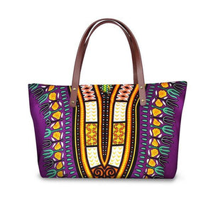 Tribal Ethnic African Tote Large Crossbody Bags Dukaiko