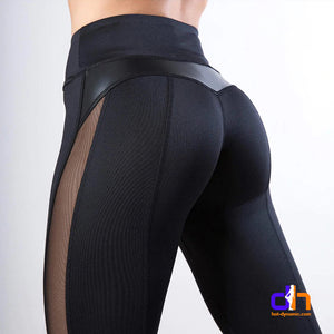 Bum Lift mesh patchwork leggings