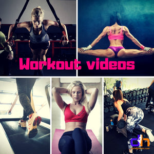 Workout training video collection