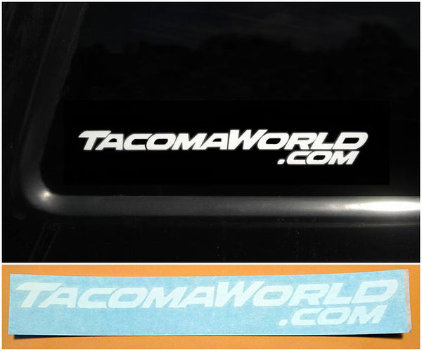 Tacoma World Sticker / Decal