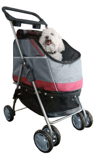 All Surface Convertible Pet Stroller, Carrier & Car Seat