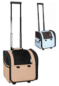 Wheeled Travel Pet Carrier - Canine Cardio