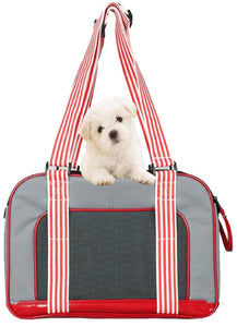 Candy Cane Fashion Pet Carrier - Canine Cardio