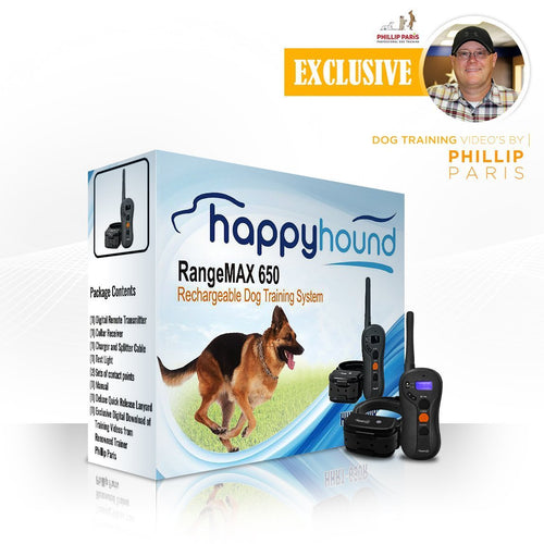 Happy Hound RangeMax 650 Dog Training System - Canine Cardio