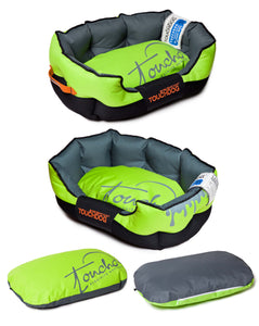 Touchdog Sporty Cushioned Dog Bed