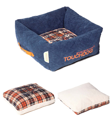 Touchdog Exquisite Wuff Dog Bed - Canine Cardio