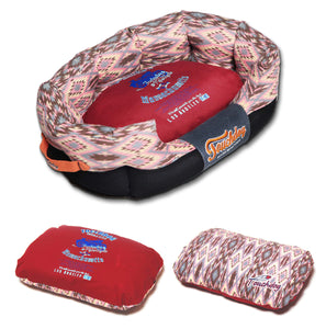 Ultra Plush Tribal Throwback Dog Bed-Round - Canine Cardio