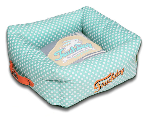 Polka-Striped Polo Easy Wash Bed by Touchdog-Squared - Canine Cardio