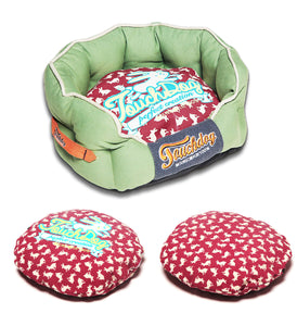 Premium Touchdog Dog Bed-Rabbit Spotted - Canine Cardio