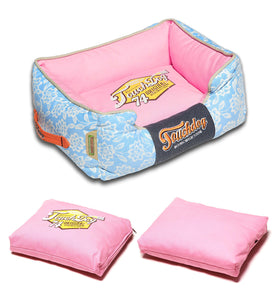 Touchdog Premium Dog Bed-Rose Petal - Canine Cardio