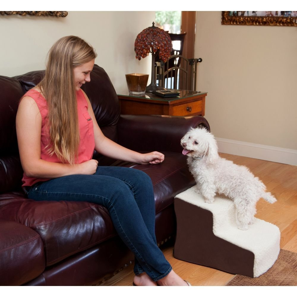 Deluxe Soft Pet Stairs by Pet Gear - Canine Cardio