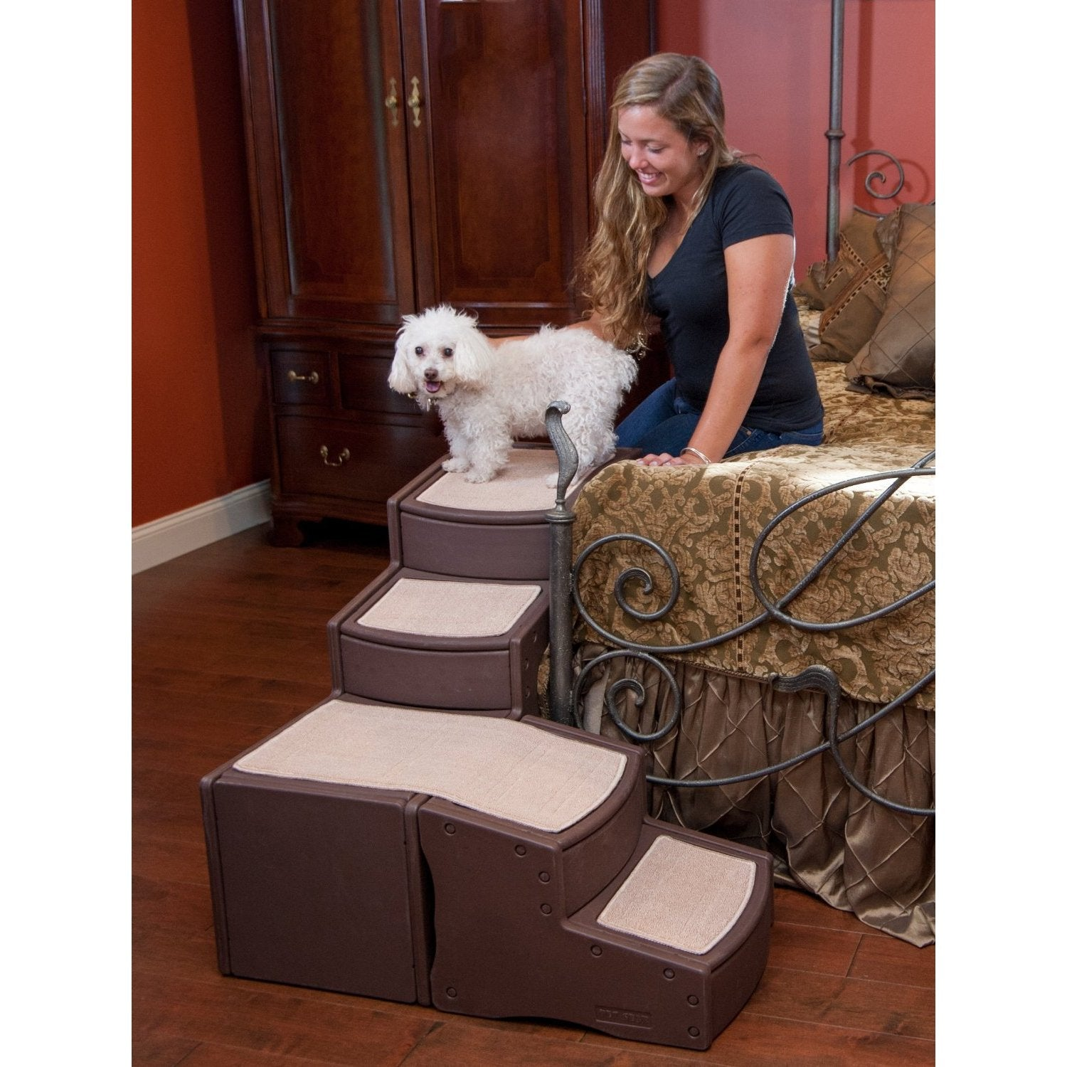 pet bed room for simple stairs diy dog